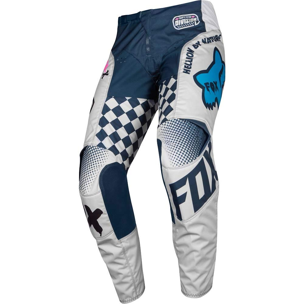 2019 Fox Racing Kids 180 Czar Pants-Light Grey-K4 by Fox Racing