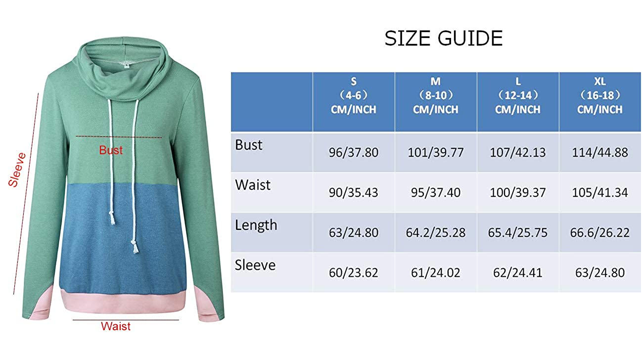 NEWCOSPLAY Women Hoodies-Tops Floral Printed Long Sleeve Drawstring Sweatshirt with Pocket