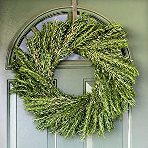 Fresh Rosemary Wreath – 20 inches – Front Door Decor – Wedding – Bridal Shower – Baby Shower