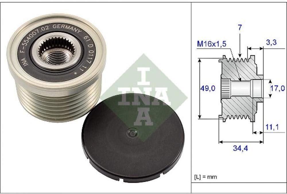 INA 535 0164 10 Generatorfreilauf