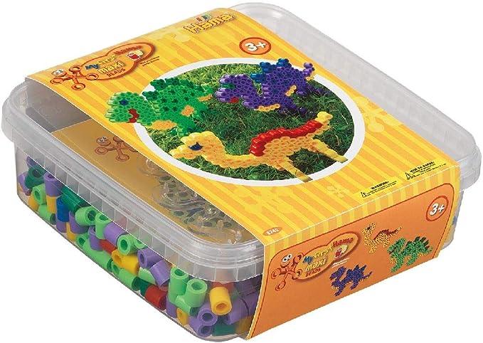 Hama 8742 Tube Bead Multicolor 600 Pieza(s) - Abalorios (Tube Bead, Multicolor, 600 Pieza(s), Caja): Amazon.es: Juguetes y juegos