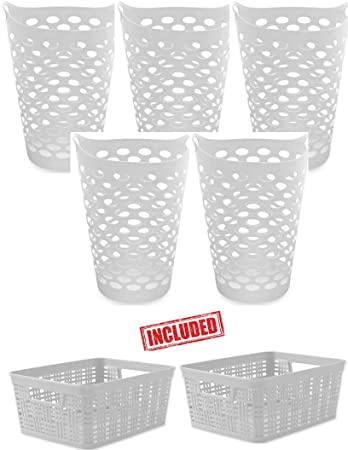 Tall Plastic Laundry Basket Amazing Amazon Starplast Tall Flex Pack Of 60 Laundry Basket With 60 Pack