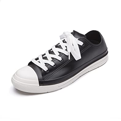 DKSUKO Women s Wellington Waterproof Shoes Wellies Lace Up 0utdoor Boots  Ladies Ankle Short Water Shoes UK a7fd06d0b
