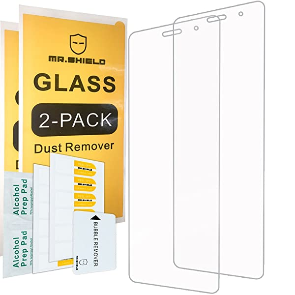 [2-Pack]-Mr Shield for Huawei MediaPad T3 8.0 inch [Tempered Glass] Screen Protector [0.3mm Ultra Thin 9H Hardness 2.5D Round Edge] with Lifetime Replacement Warranty