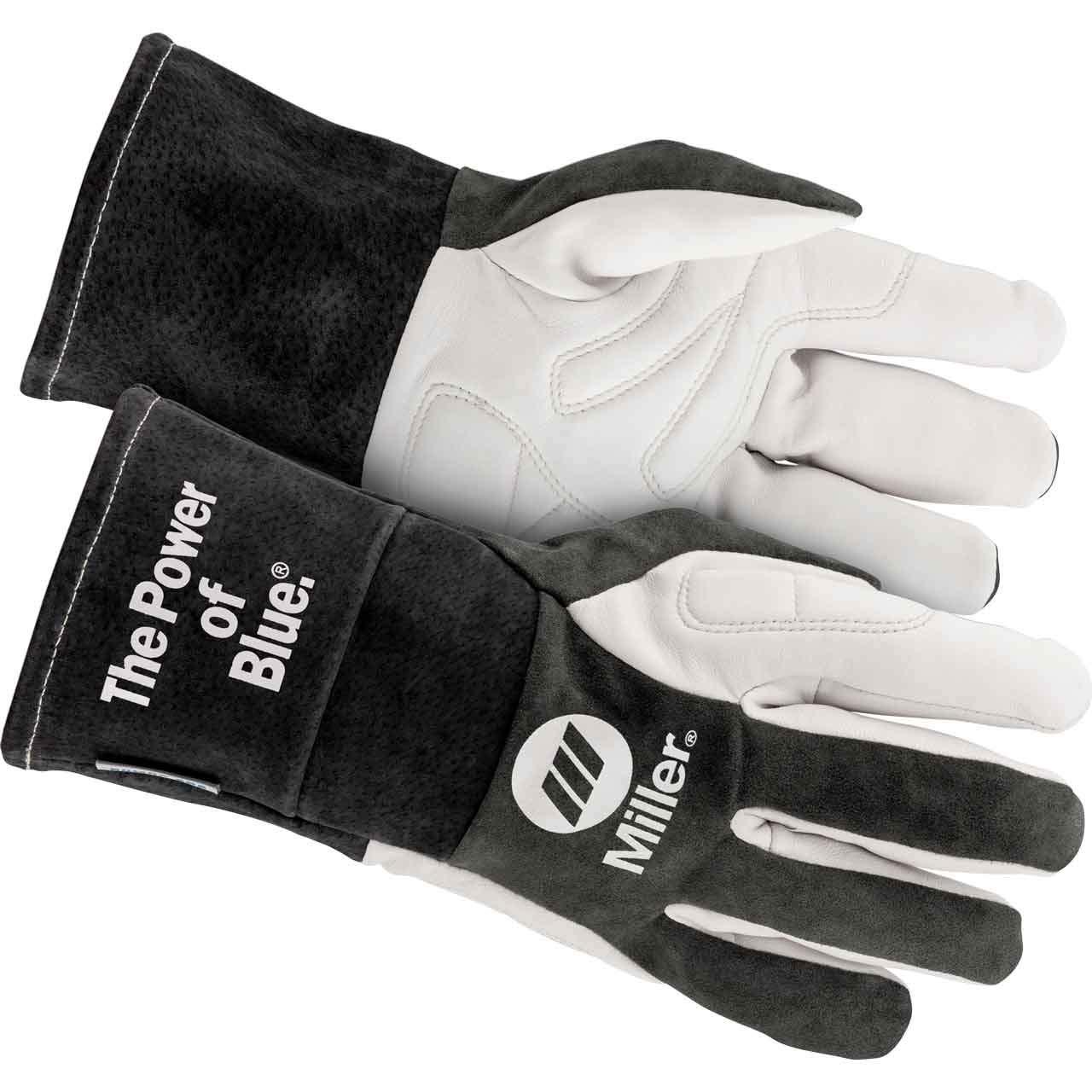 MILLER ELECTRIC 271892 Welding Gloves,TIG,M,PR
