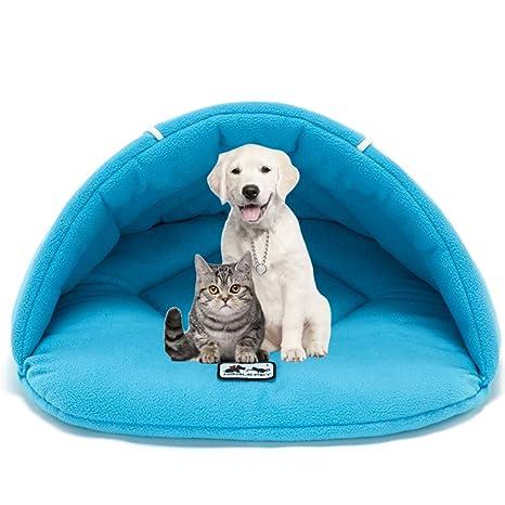 Xiaoyu Invierno Cama para Mascotas, Cueva para Mascotas, Cueva para Perros, Cueva para