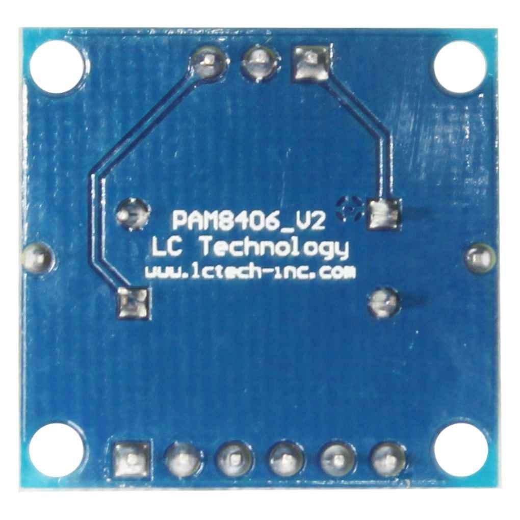 fgghfgrtgtg PAM8406 Digital-Verst/ärker-Brett mit Lautst/ärkepotentiometer Stereo Noiseless Verst/ärkermodul D Klasse 2x5W