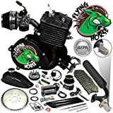 Flying Horse 66/80cc EPA Approved Fire 2-Stroke Motorized Bicycle Engine Kit- the Only Engine on the Market Certified by the E.P.A. of the United States ... (black)