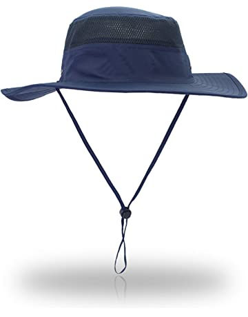 3b61b80d EONPOW Windproof Fishing Hats UPF50+ UV Protection Sun Cap Outdoor Bucket  Mesh Hat 56-61cm