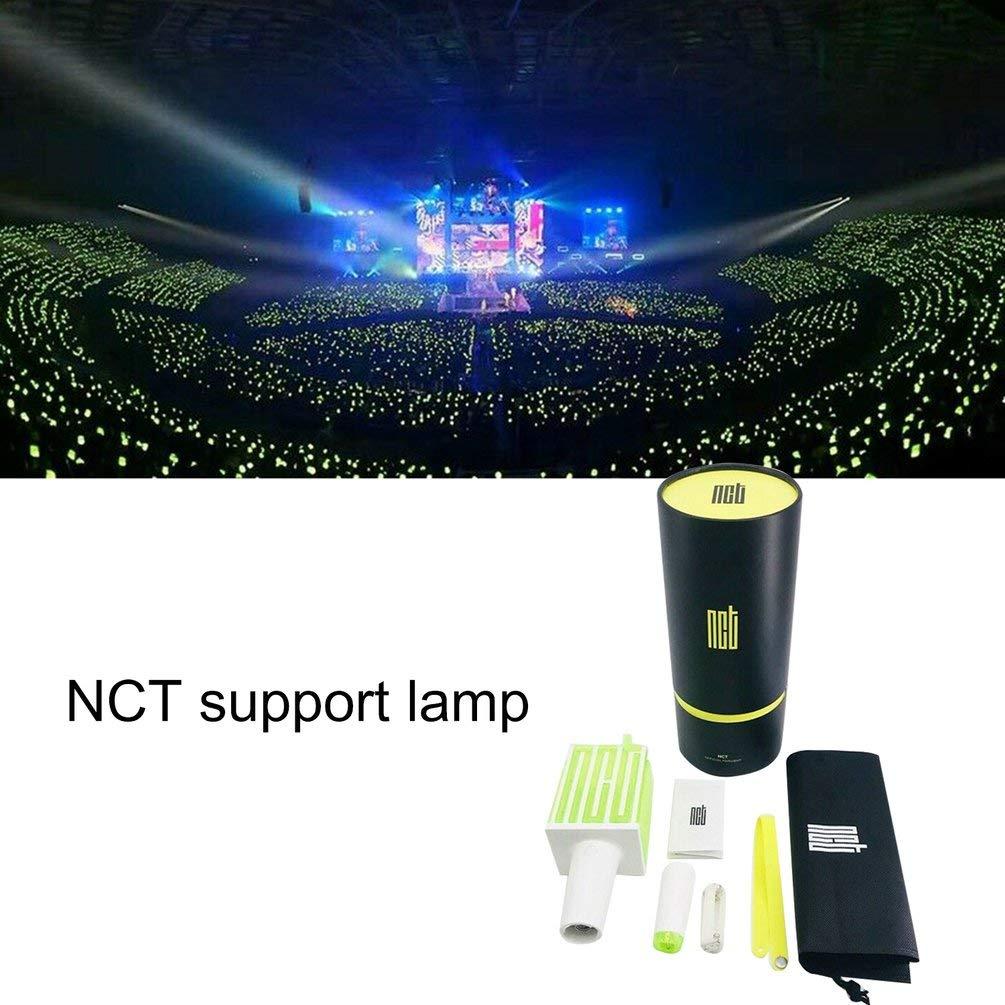 TAOHOU Lampada a LED Portatile NCT KPOP Lampada da Concerto Ufficiale Hiphop Lightstick Nero e Verde