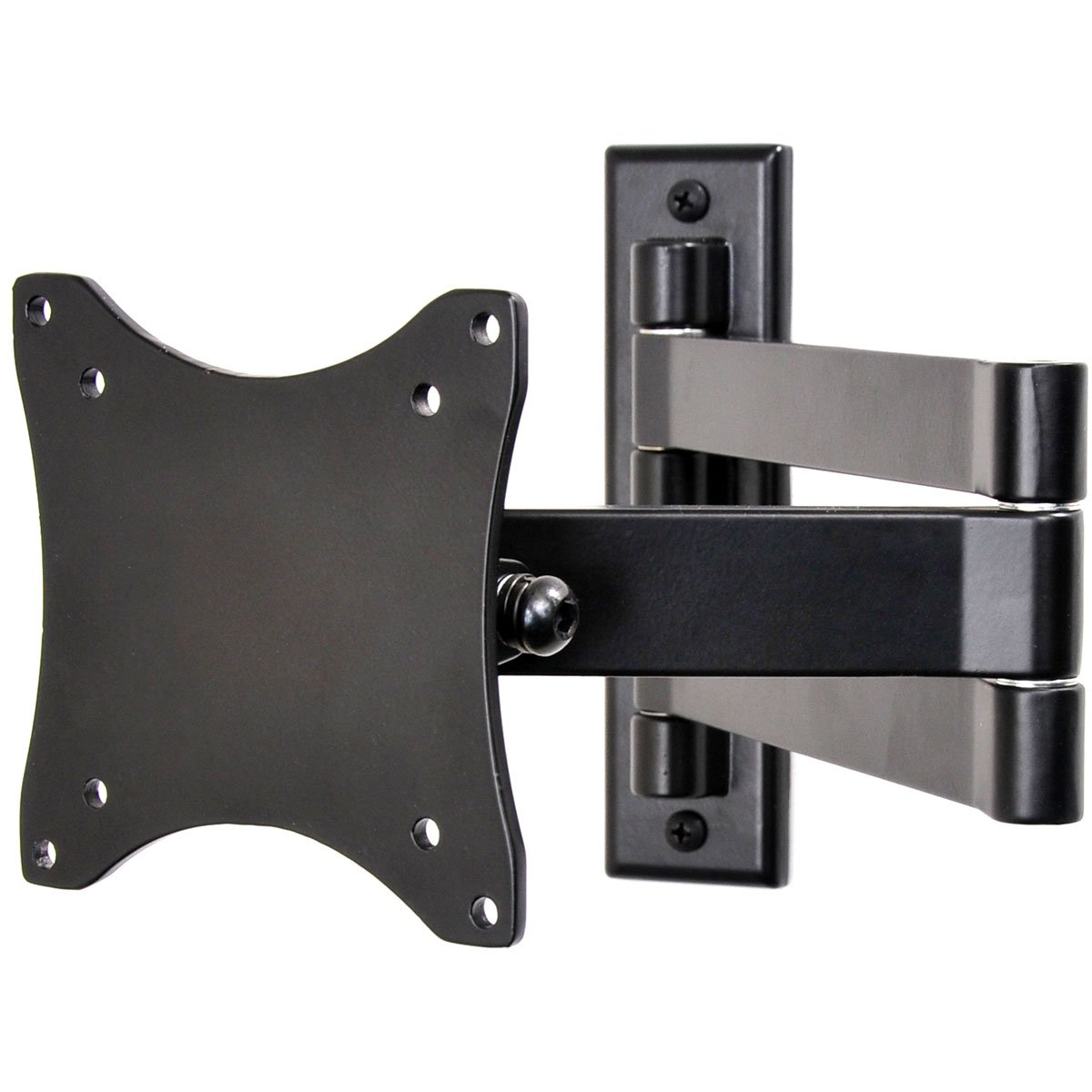 VideoSecu TV Wall Mount Articulating Arm Monitor Bracket for most 19''-32'', some up to 47'' LCD LED Plasma Flat Panel Screen TV with VESA 100/75mm ML10B 1E9