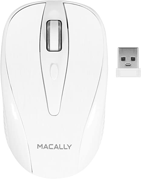 Wireless Mouse Cordless Optical Scroll 2.4GHZ Mouse PC Computer USB Dongle x