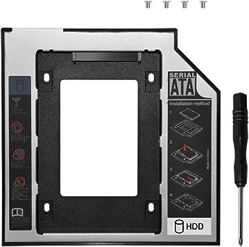 DEEPFOX - Carcasa para Disco Duro Interno de 9,5 mm SATA a SATA ...