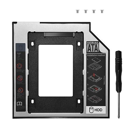 DEEPFOX - Carcasa para Disco Duro Interno de 9,5 mm SATA a ...