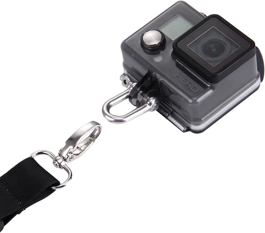 longueur 3/2/1/cam/éra de sport et Handheld extensible Pole Puluz Cam/éra /à la main Dragonne pour GoPro Hero5/Hero4/Session Hero 5/4/3/ 23/cm 60cm Neck Strap Lanyard