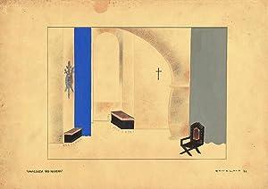 Berkin Arts Carlos Botelho Giclee Print On Canvas-Famous Paintings Fine Art Poster-Reproduction Wall Decor(Cavalgada NAS Nuvens) #XFB