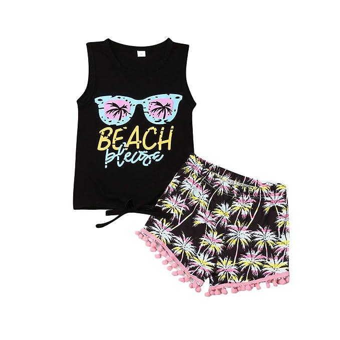 Amazon.com: Conjunto de 2 piezas de ropa para recién nacidos ...
