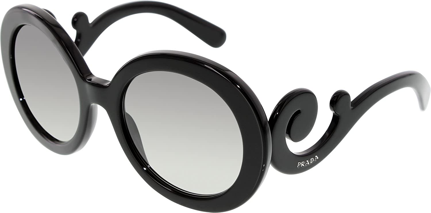 6241da68d4 Amazon.com  Sunglasses Prada 0PR 27NS 1AB3M1 BLACK  Shoes