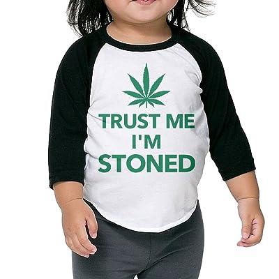 SH-rong Trust Me I'm Stoned Toddler Custom T-shirt