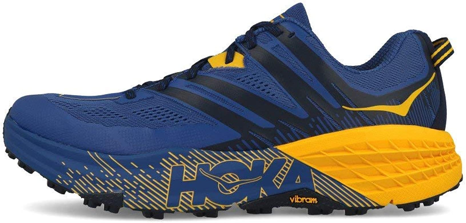 HOKA ONE One Speedgoat 3 Deportivas Hombres Azul/Oro - 41 1/3 - Running/ Trail: Amazon.es: Zapatos y complementos