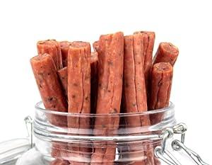Mission Meats Cracked Pepper Pork Sticks Antibiotic Free Sugar Free Gluten Free MSG Free Nitrate Nitrite Free All Natural Premium Pork Sticks Keto Friendly Paleo Friendly AIP Friendly (12 count)