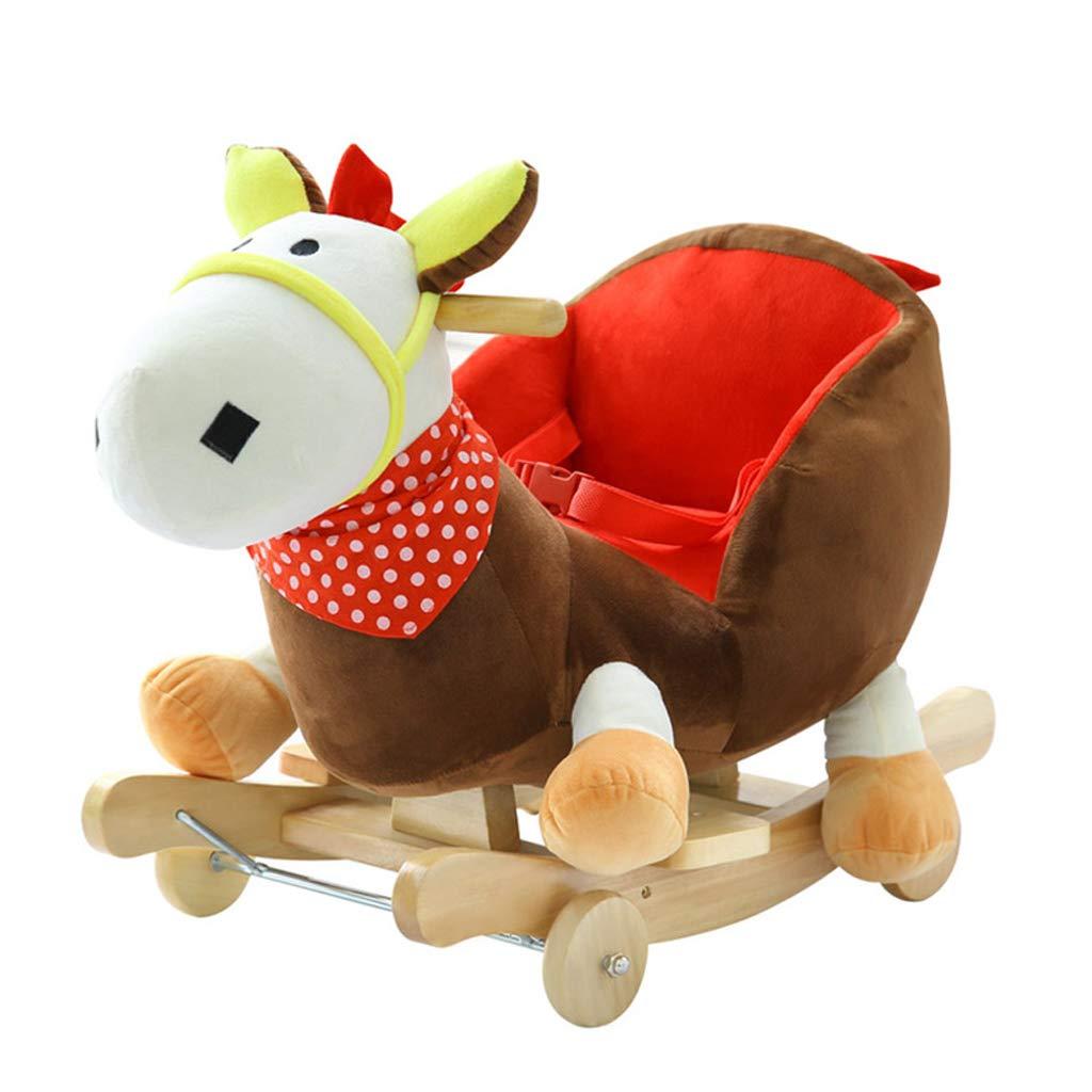 QIQIDEDIAN かわいい屋内のおもちゃの音楽子供たちの椅子大きな赤ちゃんロッキング馬ギフト B (色 : C) B07K2S7YFF : B B07K2S7YFF B, インバグン:bbb5d82c --- gallery-rugdoll.com