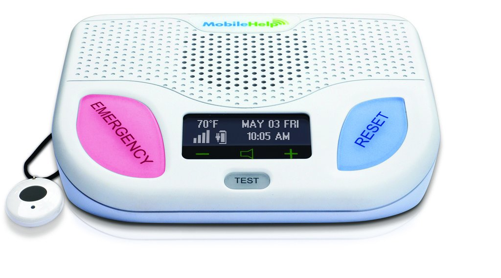 MobileHelp Classic - Home Medical Alert System for Seniors. Remotely Activated, Cellular 24/7 Emergency Monitoring Service