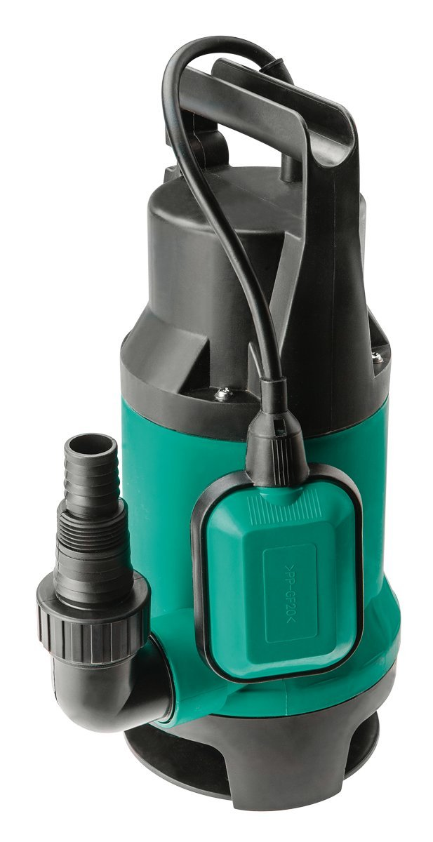 GRUPA Topex 52 G449 Immersion Pump for Dirty Water 900 W, Dark Green Intenso Grupa Topex Sp.z.o.o. Sp.k. 52G449