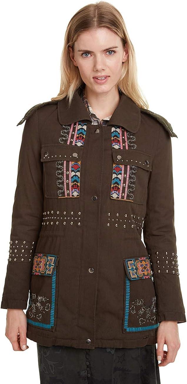 Desigual Coat Lena Abrigo para Mujer