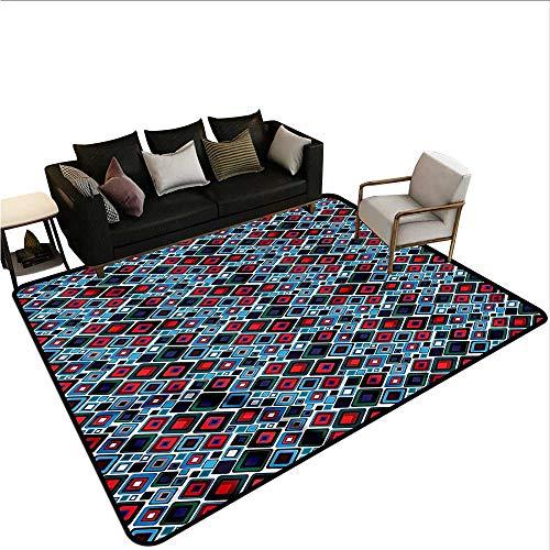 Retro,Indoor Super Absorbs Doormat 24