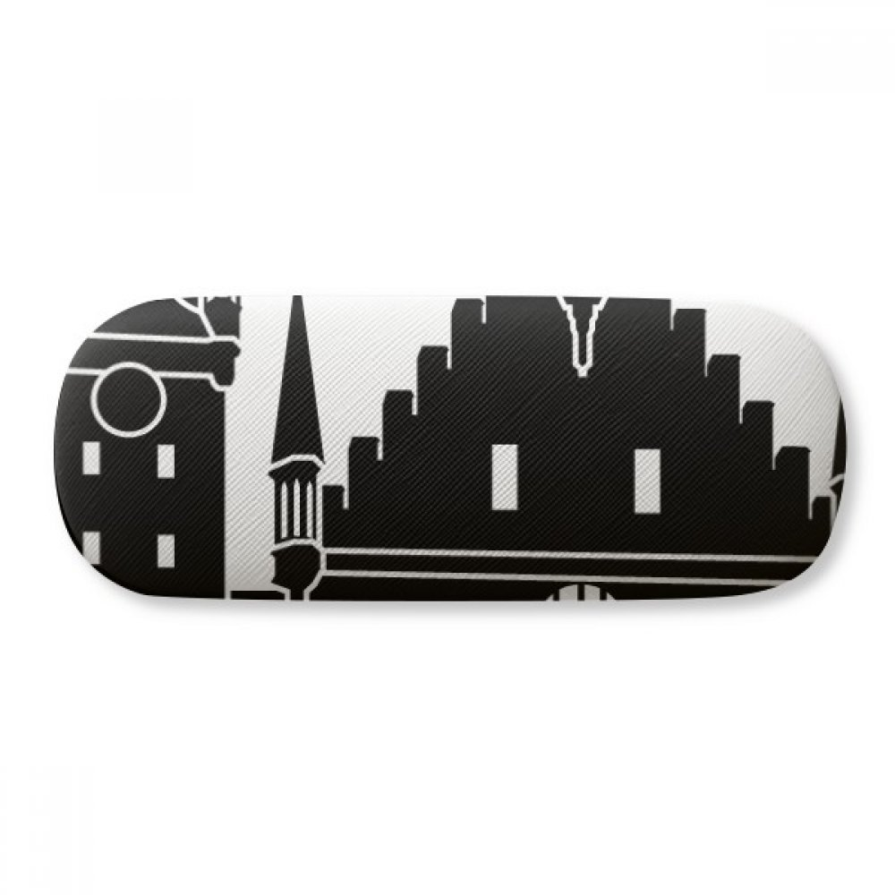 Germany Cologne Cathedral Landmark Glasses Case Eyeglasses Clam Shell Holder Storage Box