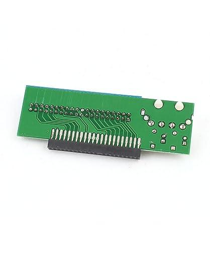 Amazon.com: eDealMax IDE 43 Pines hembra a 39 Tarjeta de convertidor adaptador Masculino del Pin HDD Para el ordenador portátil: Electronics
