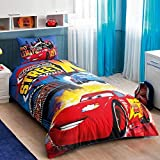 100 % Turkish Cotton Disney Cars Nitroade Street X Lightning Mcqueen Single Twin Size Duvet / Quilt Cover Bed Set Sheets Bedding Linens by Disney