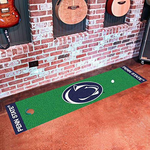 FANMATS NCAA Penn State Nittany Lions Nylon Face Putting Green Mat