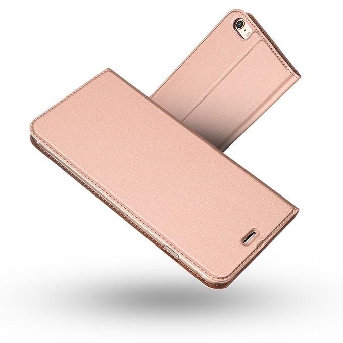 Radoo iPhone 6S/ iPhone 6 Hülle, Premium PU Leder Handyhülle Brieftasche-Stil Magnetisch Klapphülle Etui Brieftasche Hülle Sc