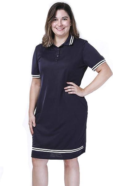 ShinFashion Women T Shirt Polo Collar Casual Pique Short ...