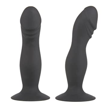 Butthole toy and masterbation in black nylons