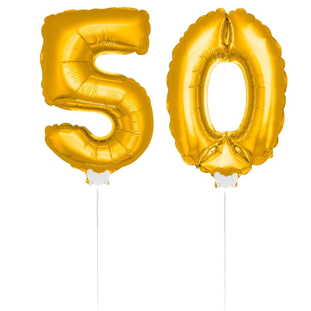 Gold 50 Stk Jubiläum Goldene Hochzeit Party Picker 50 Jahre