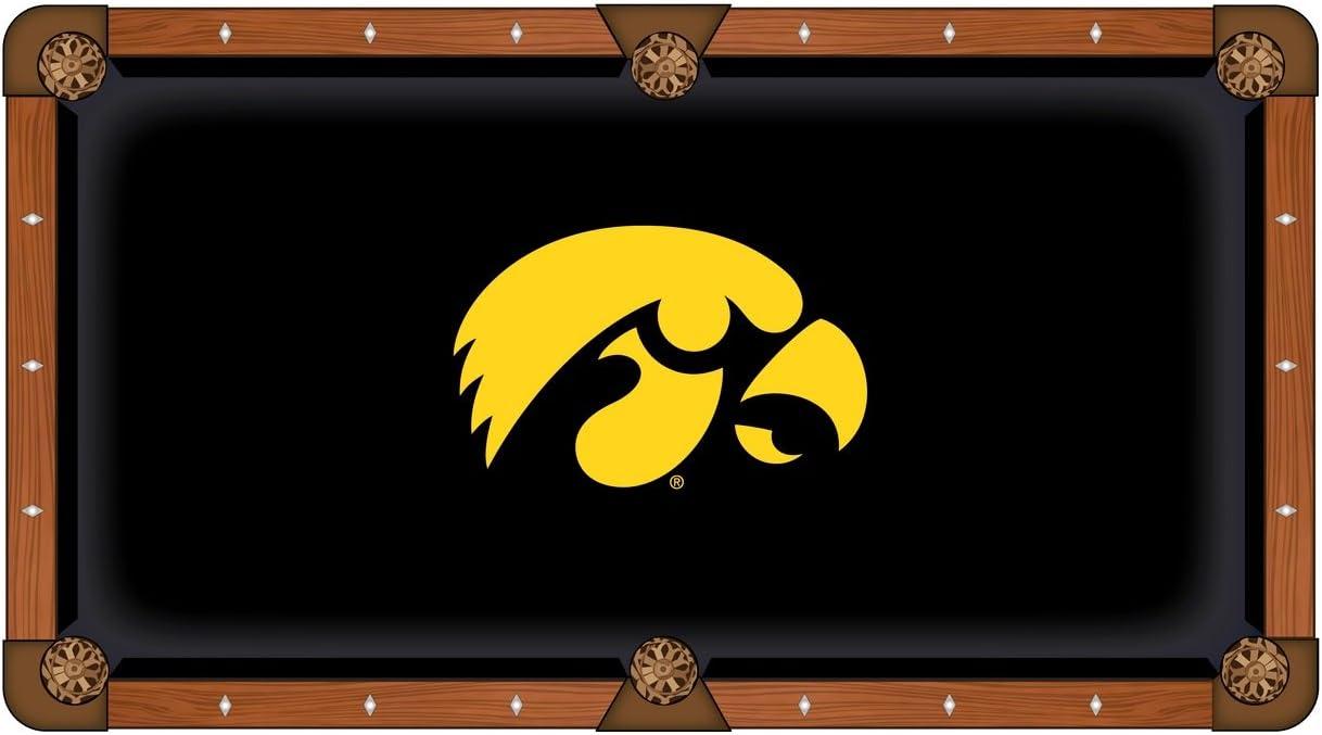 Iowa Hawkeyes HBS negro con amarillo Logo de billar mesa de billar ...