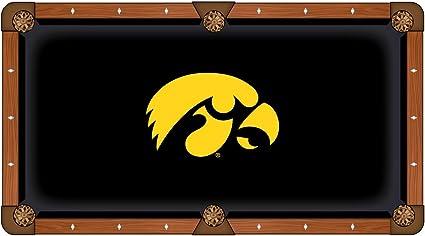 NCAA Iowa Hawkeyes Billiard Table Cover Holland Bar Stool Co