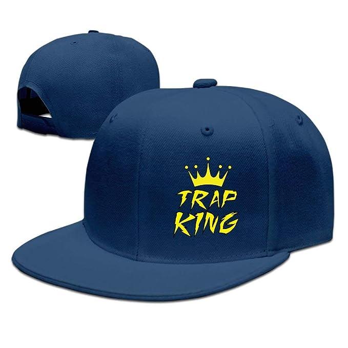 Trap Kingz Solid Flat Bill Hip Hop Snapback Baseball Cap Unisex Sunbonnet Hat.: Amazon.es: Ropa y accesorios