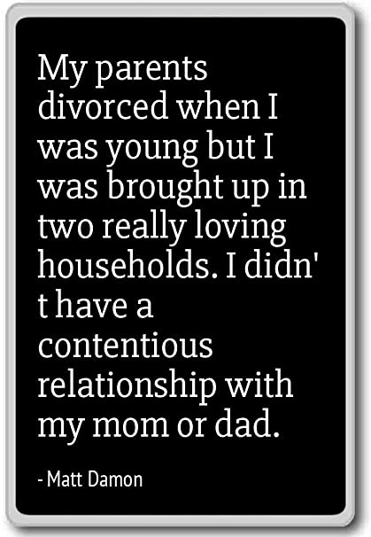 Amazon.com: My parents divorced when I was young but I was b ...