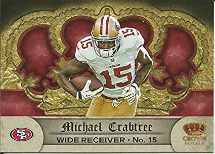 Amazon.com  2012 Crown Royale Retail  122 Michael Crabtree NM-MT ... 22cc6613d