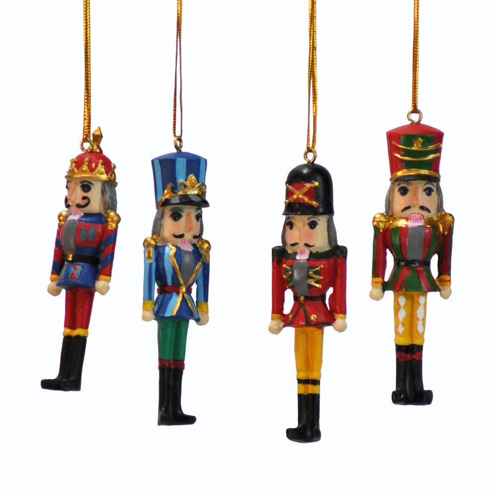 Amazon.com: Nutcracker Christmas Ornament (3.5 in. polystone): Home ...