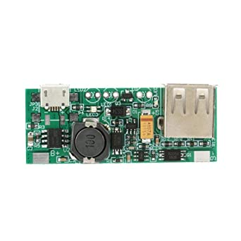Boost Voltage Converter Module Cargador USB 3.7V a 5V 1A Step Up ...