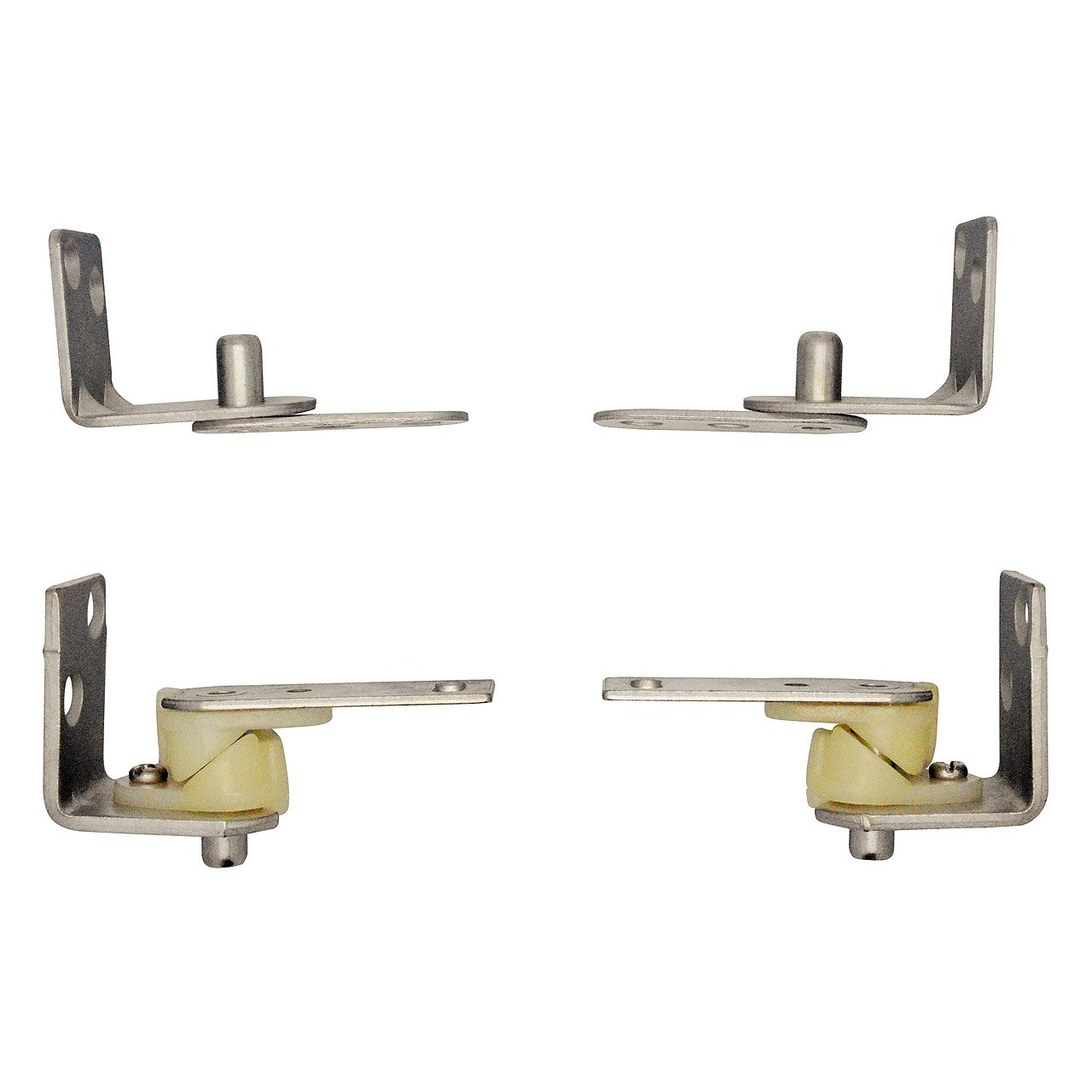 polished plates amazon in duty com brass finish with swinging steel plated dp hardware door floor hinge cover standard swing