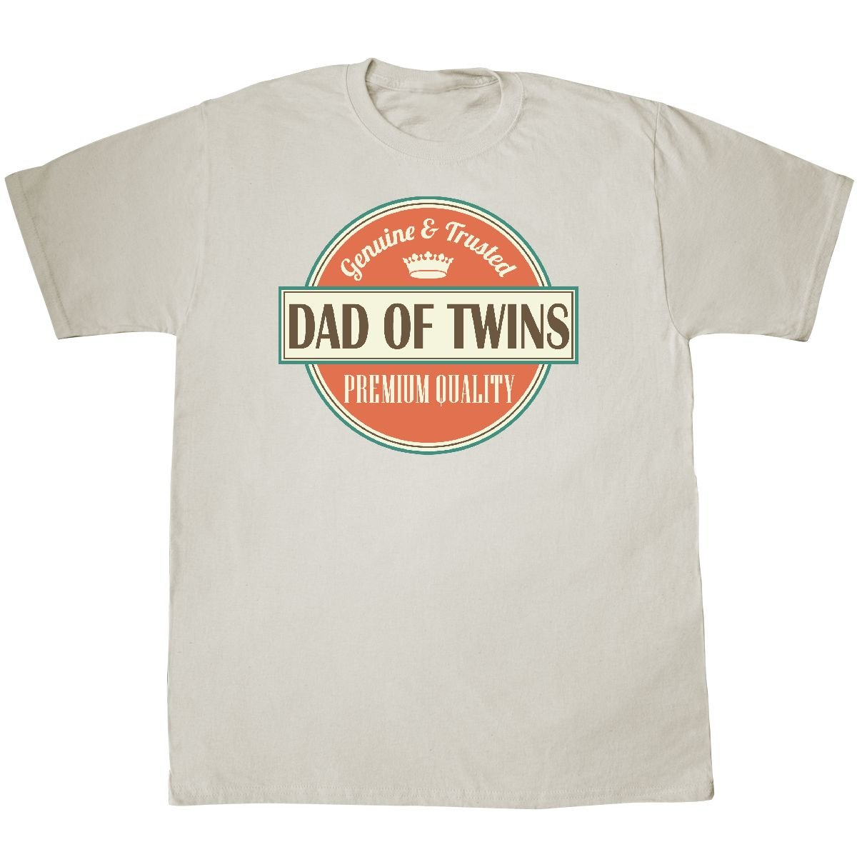 6e093a85 Inktastic Dad Of Twins vintage T-Shirt XXX-Large Natural: Amazon.ca:  Clothing & Accessories