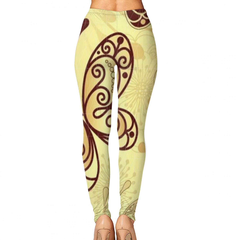 efyh Women Yoga Pants Printed High Waist Power Flex Capris Workout Leggings for Fitness Running Gray Raccoon