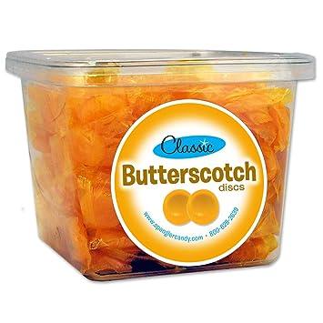 Butterscotch Discs 2 lb tub: Amazon.com: Grocery & Gourmet Food