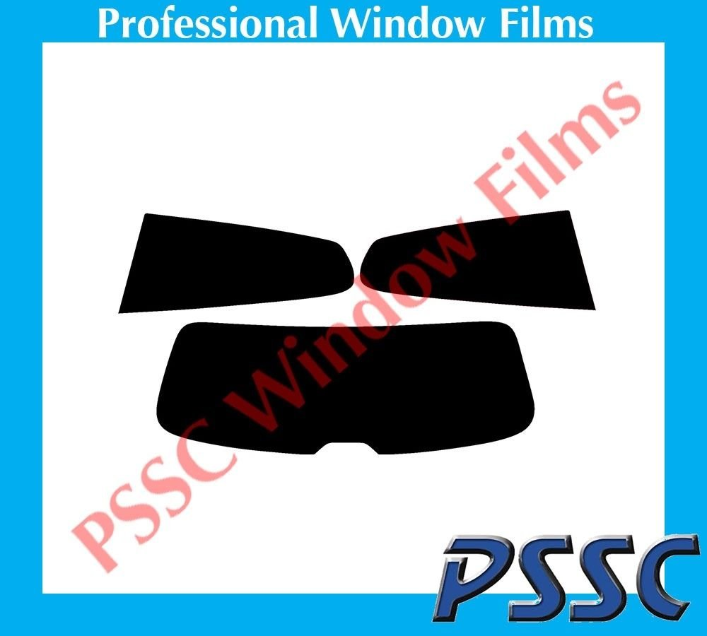 PSSC Pre Cut Rear Car Window Films for VW Scirocco 3 Door Hatch 2008 to 2016 05/% Very Dark Limo Tint